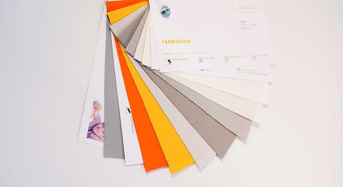 Kostenloser Farbfächer von SPANNMAXXL
