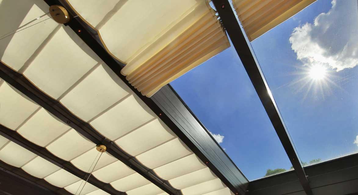 Sonnenschutz Terrassendach
