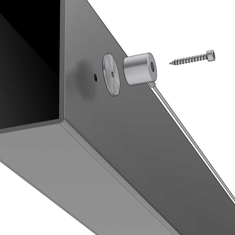 Montageart – Durchgangsschraube selbstschneidend