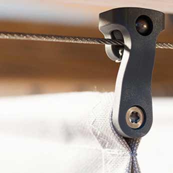 Wolkenbahn L: Roll-Pendelhaken