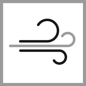 Benutzung/Pflege: Wind