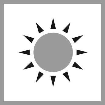 Benutzung/Pflege: Sonne